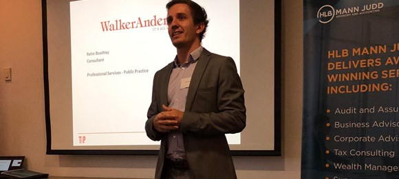 Last night Walker Andersen co-hosted an event alongside CPA Australia and HLB Mann Judd Banner